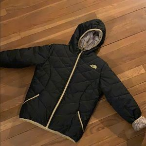 Kids Northface winter jacket size 14-16